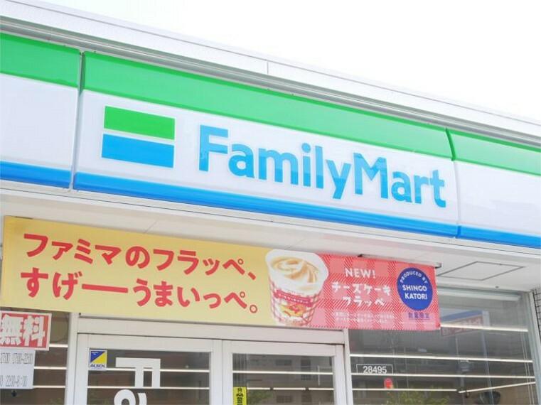 コンビニ ファミリーマート 道徳通二丁目店