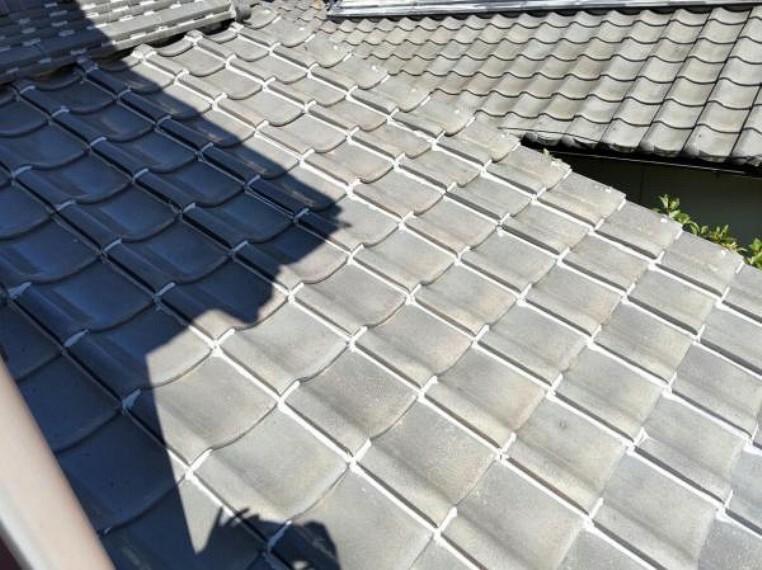 外観写真 屋根写真です。雨漏りが無いか点検・確認し補修を行います。