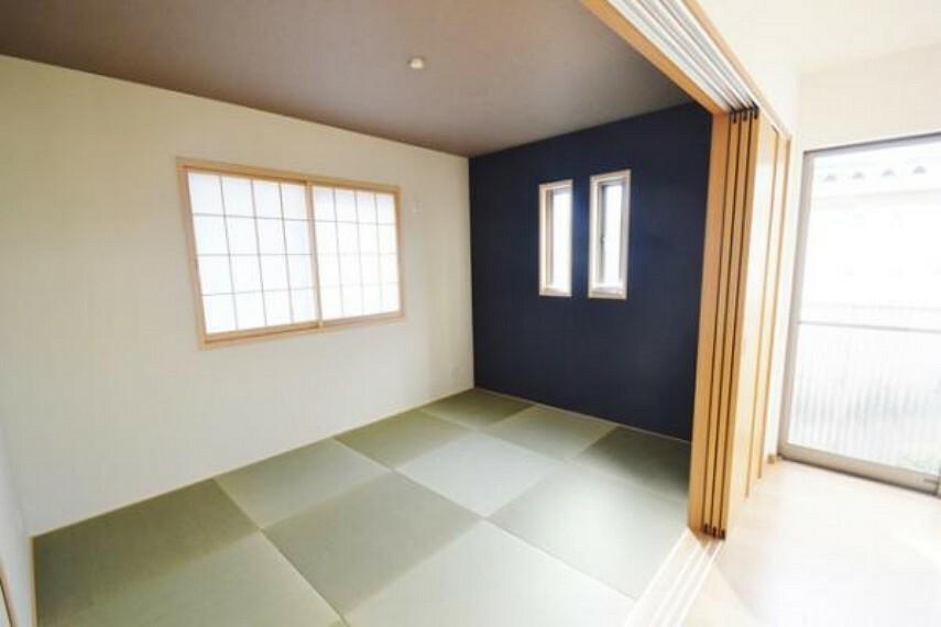 参考プラン完成予想図 \同仕様写真/和室のお部屋は来客時のお泊りやゆっくり寛ぐにはぴったりですね