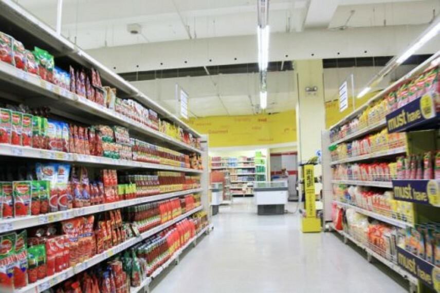 スーパー 【スーパー】mandai(万代) 南津の辺店まで445m
