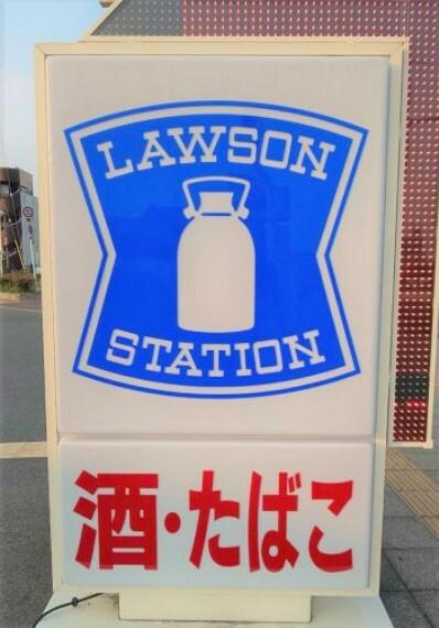 コンビニ 【コンビニエンスストア】ローソン JR野崎駅北店まで584m