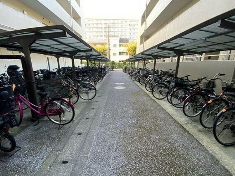 駐輪場 敷地内駐輪場。