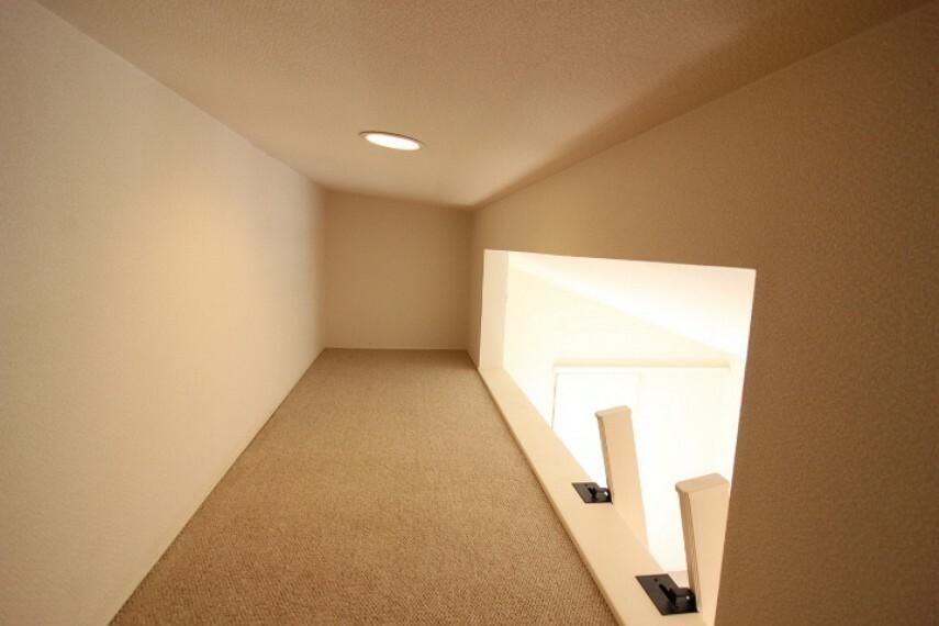 ロフト付き 趣味スペースにいかがでしょうか。