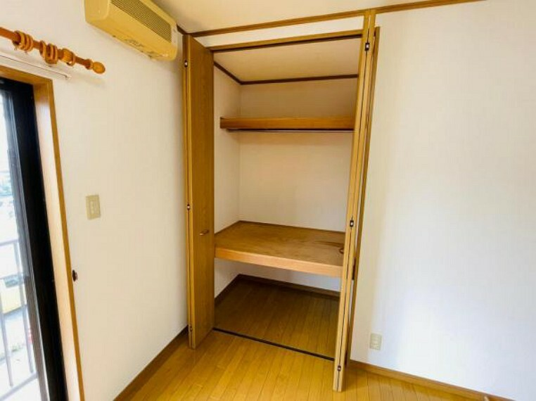 収納 便利な全居室収納スペース付