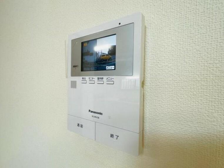 TVモニタ付インタホンでセキュリティ面にも配慮