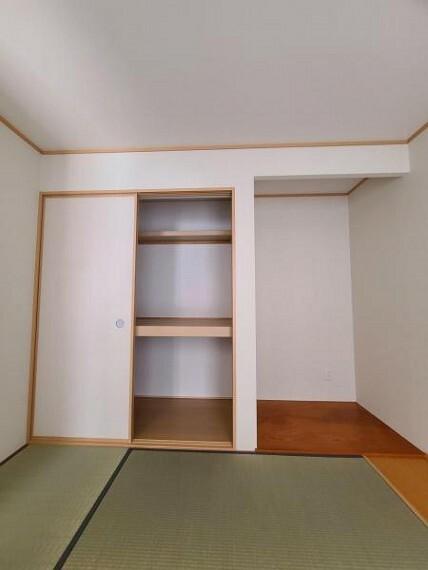 収納 和室4.5帖:床の間・押入れスペース!
