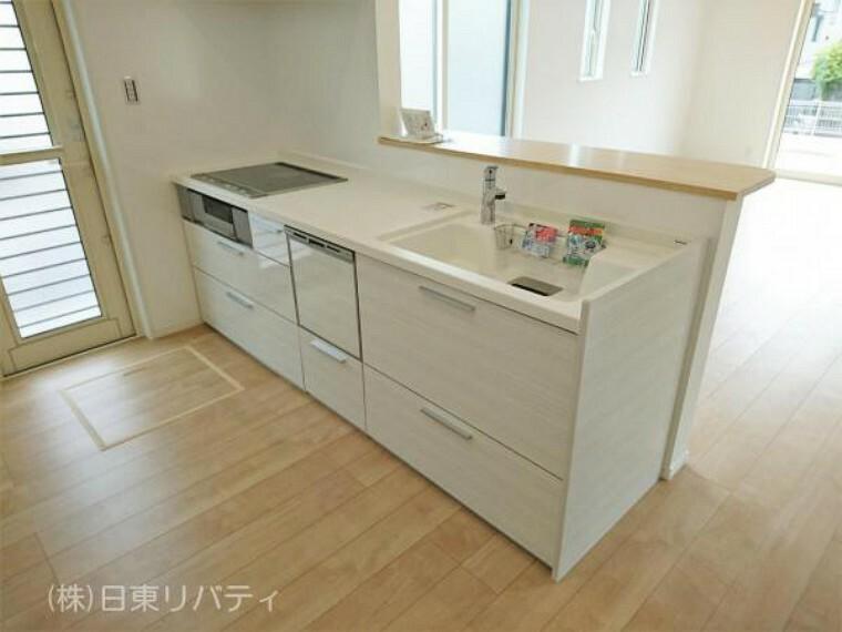キッチン キッチンには食洗機を完備。