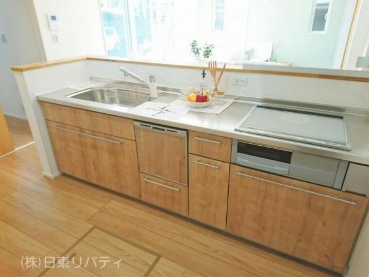キッチン キッチンには食洗機やIHクッキングヒーターを完備。