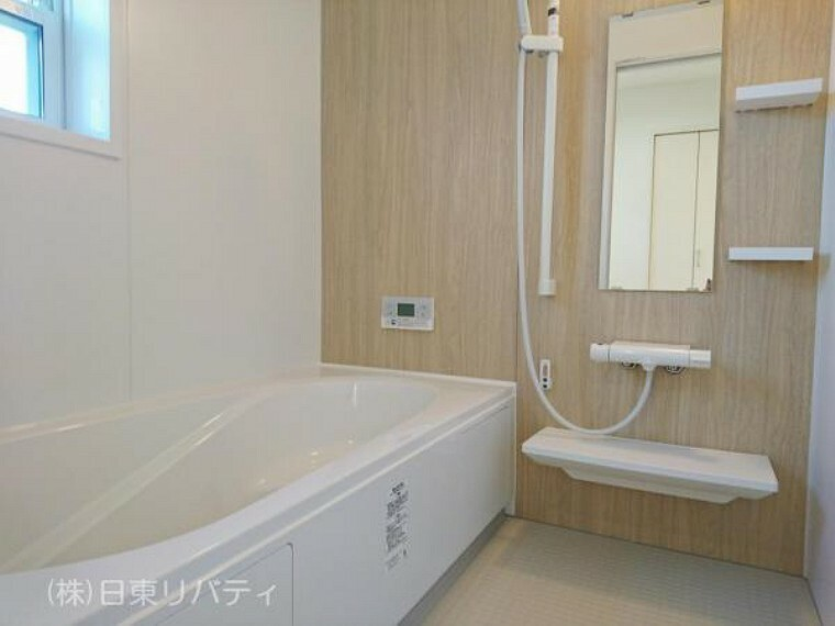 浴室 ゆったりとした浴室で、一日の疲れをゆっくりと癒せます。