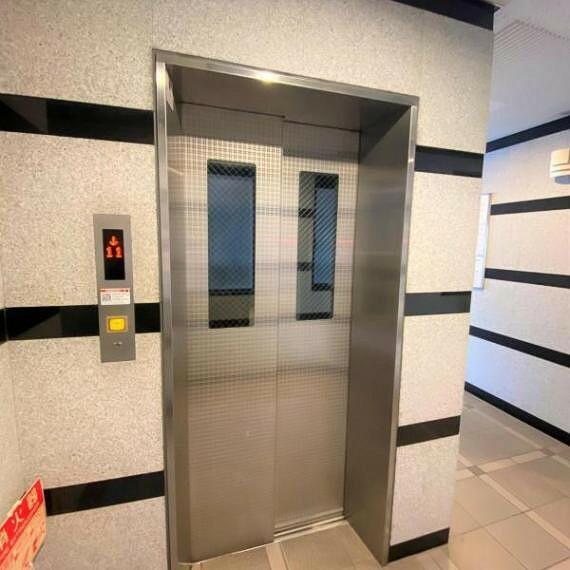 エレベーター付きのマンションです!