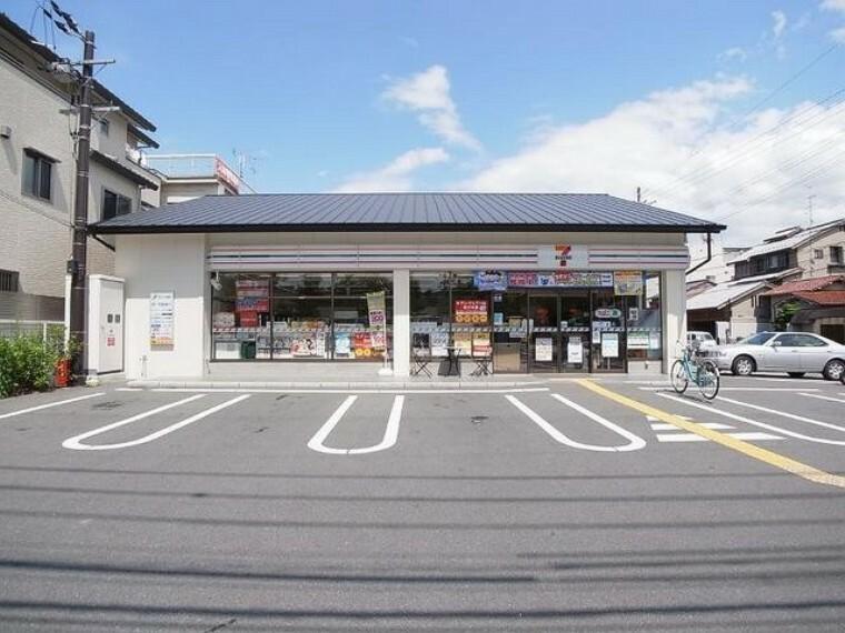コンビニ 【コンビニエンスストア】セブンイレブン 京都堀川玄以店まで300m