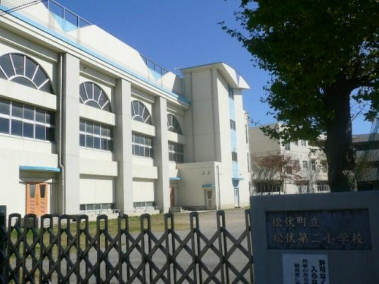 小学校 【小学校】松伏町立松伏第二小学校まで366m