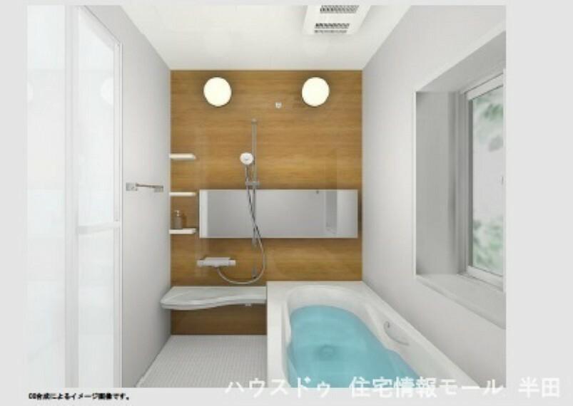 同仕様写真(内観) エコベンチ浴槽を採用した浴室 ※バスルームイメージ図