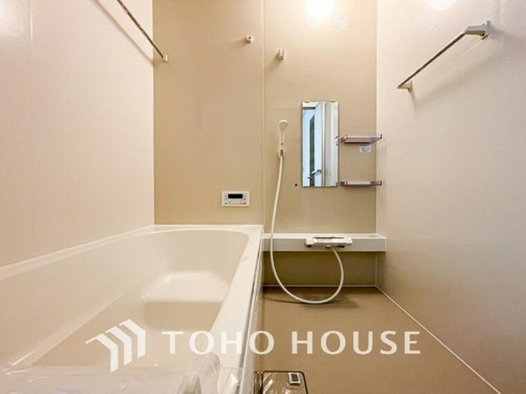 浴室 一日の疲れを癒すための心地よいバスタイムを演出する浴室はゆとりあるサイズを採用。