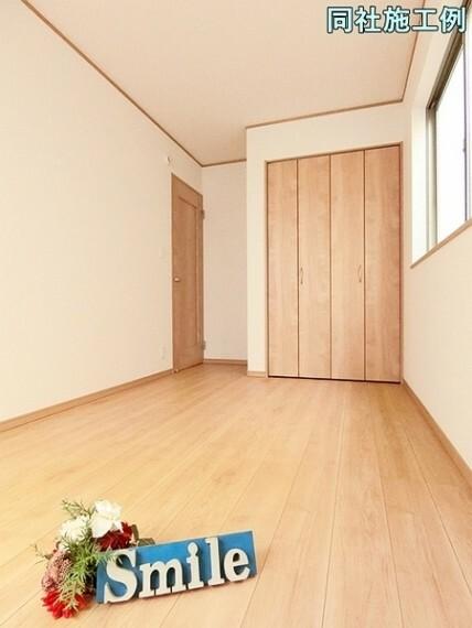 洋室 2階には洋室が3部屋あり、明るく風通しの良いクローゼット付きの洋室です