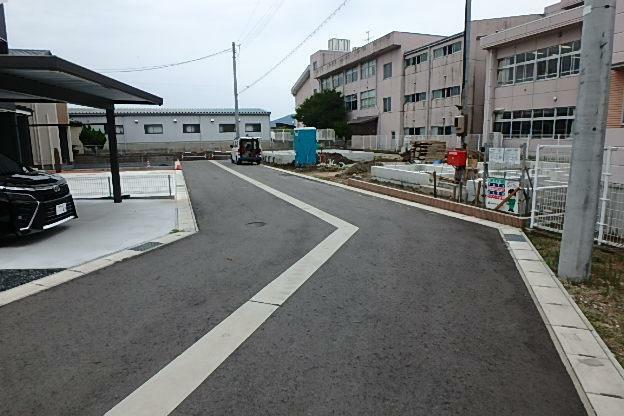 現況写真 北側前面道路