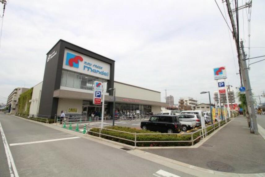 スーパー 【スーパー】万代 森河内店まで607m