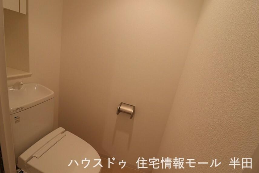 トイレ ゆったりとしたスペースのトイレ