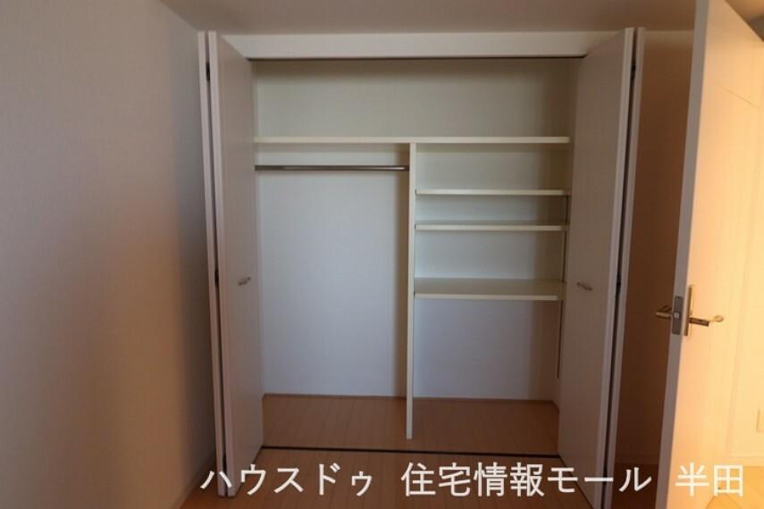 収納 全てのお部屋に収納があるので、お部屋がスッキリ片付きます!