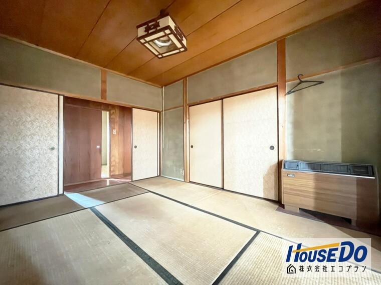 和室 広々とした和室は急な来客時にも柔軟に対応してくれますね