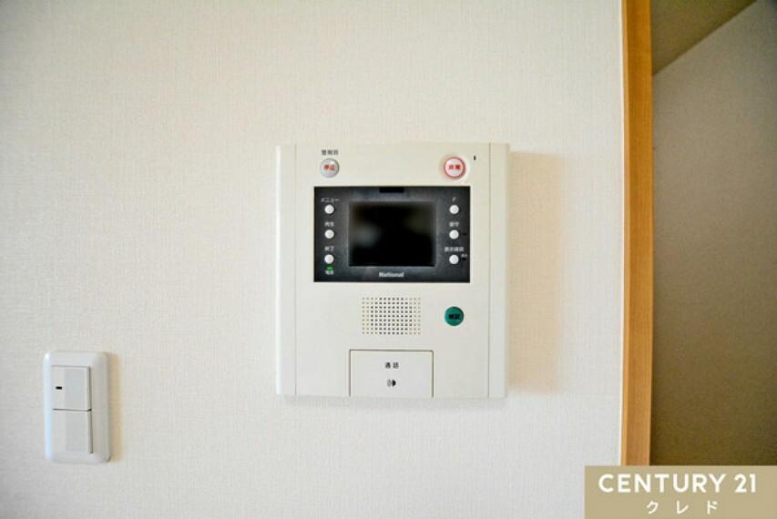 居間・リビング TVモニター付インターホン完備なので誰が来たか一目で分かり防犯対策も出来ます!