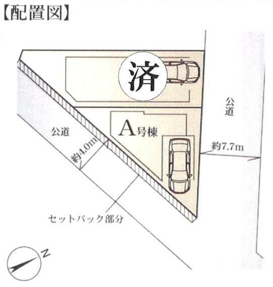 区画図 A号棟
