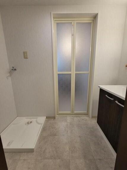 脱衣場 洗面室が広いのはポイント高めです