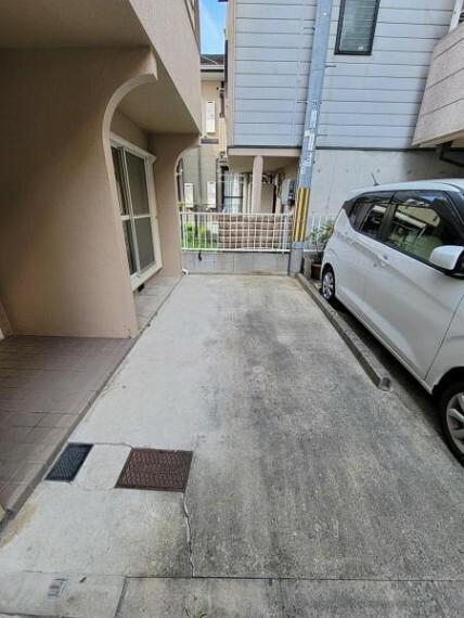 駐車場 駐車スペース!1台駐車可能です!
