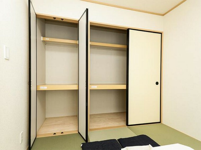 同仕様写真(内観) \同仕様写真/お布団も収納できる広々とした押入れは、季節のものもたくさん収納しておける便利なスペースです!