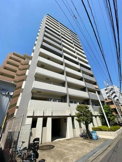 外観写真 熊野前駅徒歩1分!!ペットと一緒に暮らせるマンションです