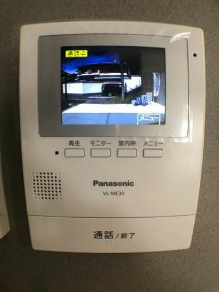 TVモニター付きインターフォン TVモニター付インターホン