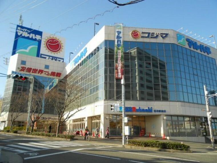 スーパー 【スーパー】マルハチ名谷駅前店まで230m