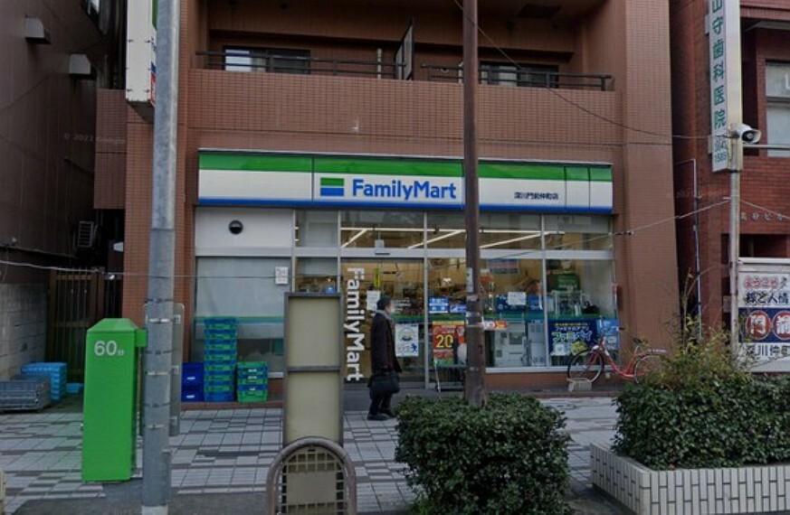 コンビニ ファミリーマート 深川門前仲町店