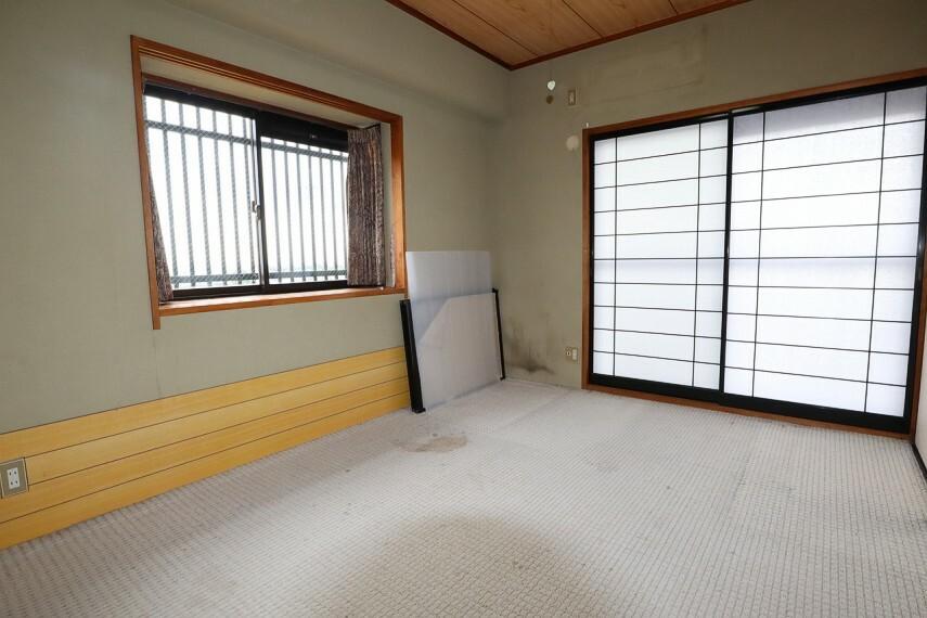 和室 リビング横の南向きの和室