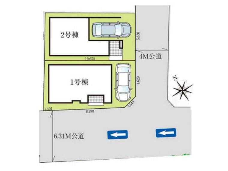 区画図 2路線2駅利用できる通勤・通学に便利なエリア! 朝霞第五小学校徒歩6分!子育てにも安心の周辺環境です!