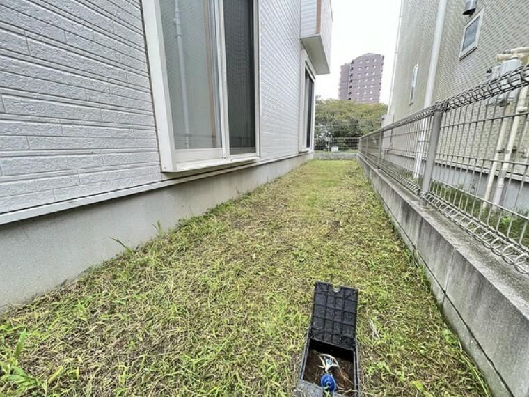 庭 散水栓のあるお庭です