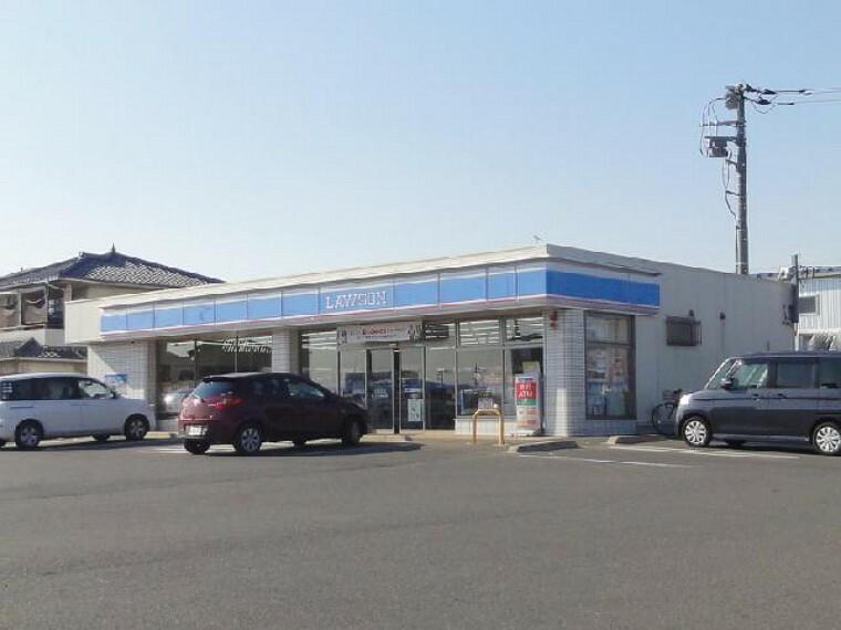 ローソン太田泉町店・・・24時間営業のこんびには、徒歩圏内にあると日常生活に大変便利です。