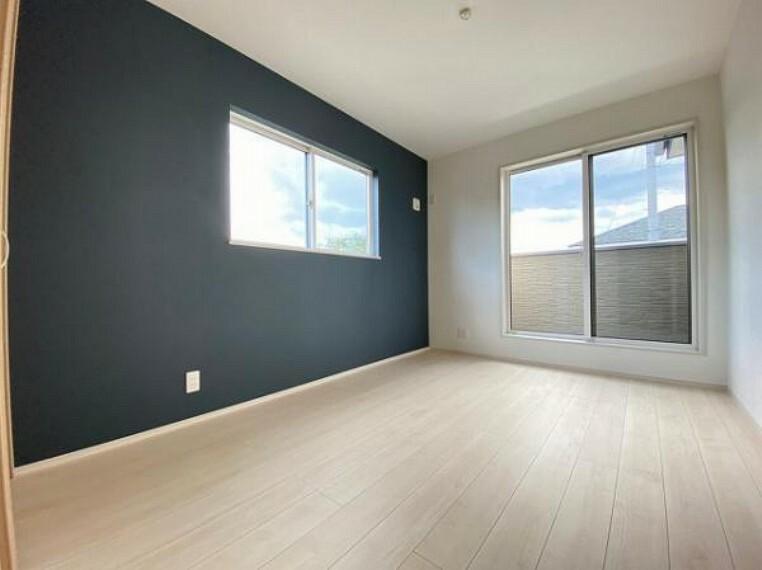 洋室 各室に収納付きでお部屋をスッキリお使いいただけます
