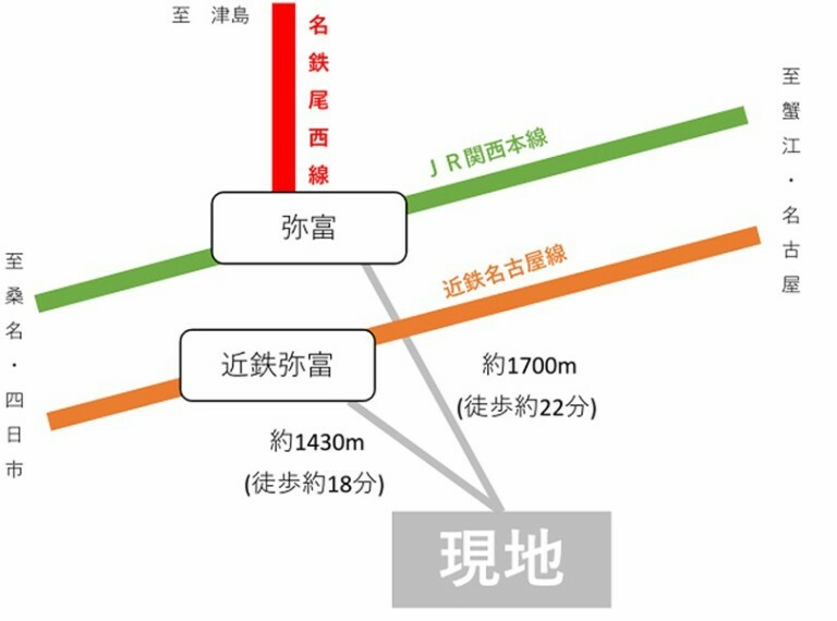 区画図 【路線図】3路線利用可能です