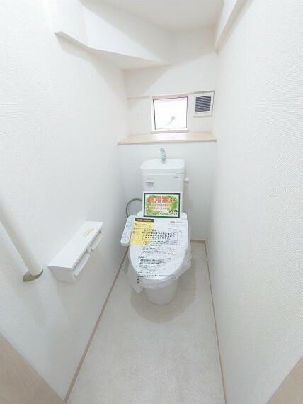 同仕様写真(内観) トイレ:1F2F二か所あり《 同社施工例 》現地見学や詳細は 株式会社レオホーム へお気軽にご連絡下さい。