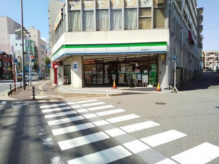コンビニ 【コンビニエンスストア】ファミリーマート 多田屋稲毛店まで130m