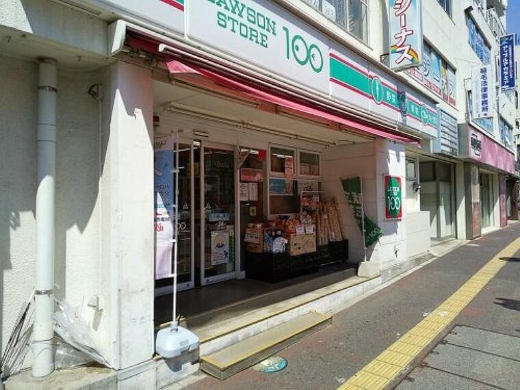 コンビニ 【コンビニエンスストア】ローソンストア100 LS稲毛駅前店まで90m
