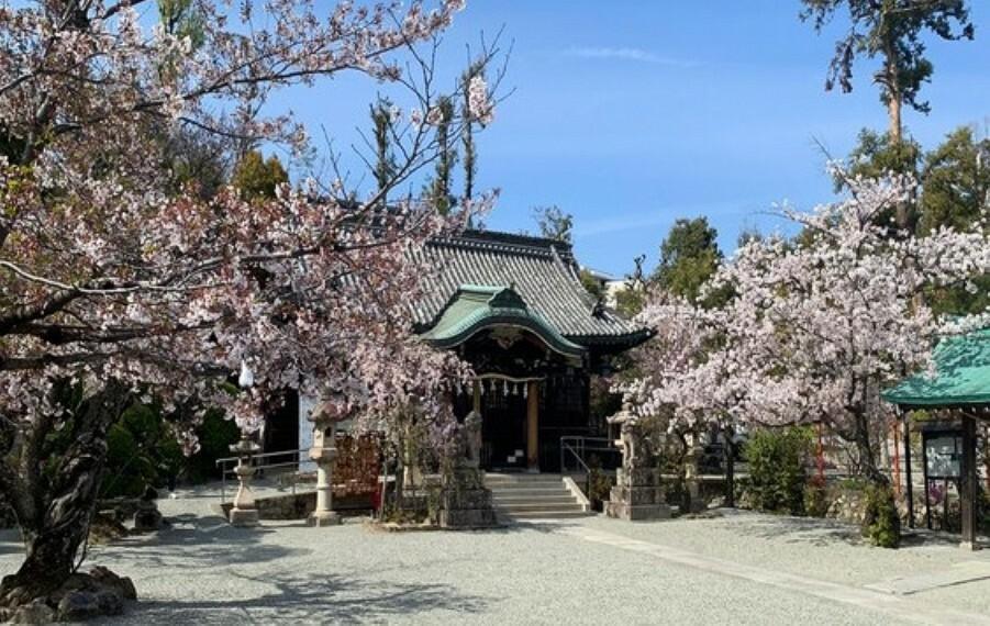【寺院・神社】春日神社まで2524m