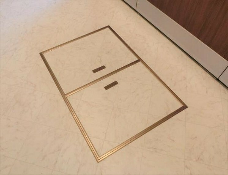 キッチン キッチンには床下収納がございます