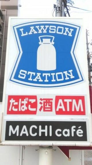 コンビニ 【コンビニエンスストア】ローソン 尼崎久々知一丁目店まで190m