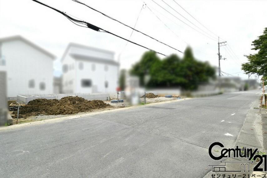 現況写真 ■現地撮影写真!前面道路は広々7.1mあります!■