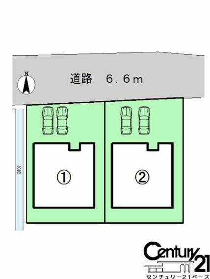 区画図 ■こちらの物件は1号棟です!■