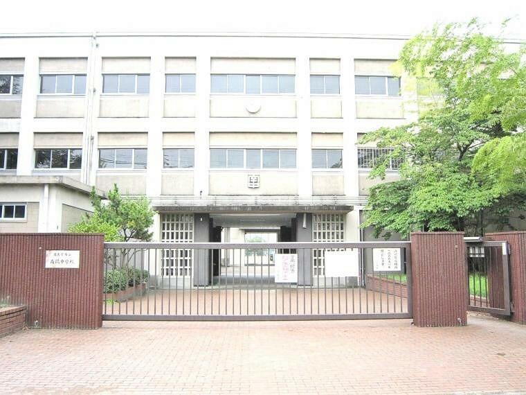 中学校 名古屋市立南陽中学校