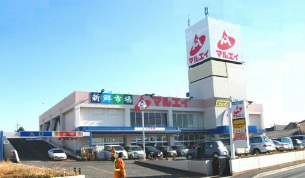 スーパー 【スーパー】新鮮市場マルエイ 薬円台店まで380m