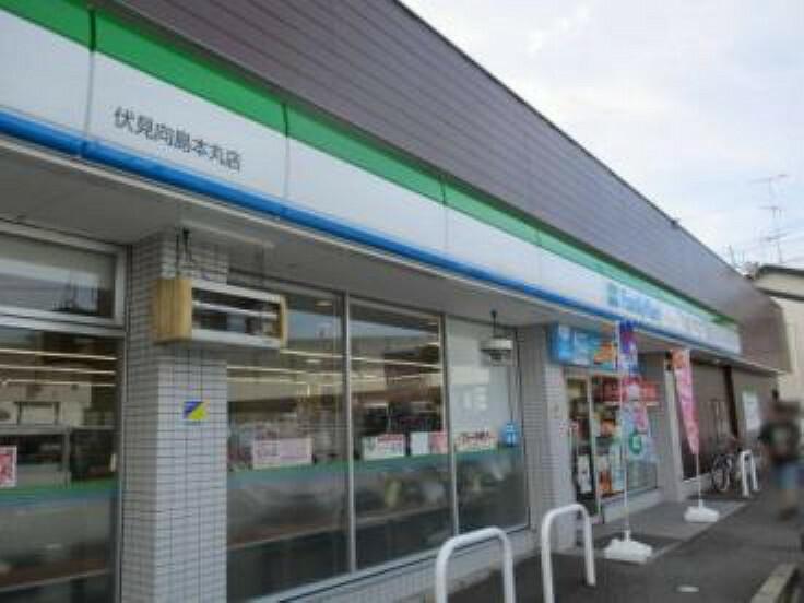 コンビニ 【コンビニエンスストア】ファミリーマート 伏見向島本丸店まで761m